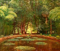 Santiago Rusiñol – Gardens of Silence | Graphicine