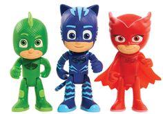 Visando promover a igualdade de gênero e estimular a criatividade os personagens do desenho PJ Masks Heróis de Pijamas ganham versão em brinquedo - EExpoNews