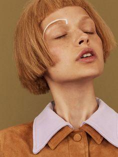 Eccentric Beauty Editorials : Vintage Makeup