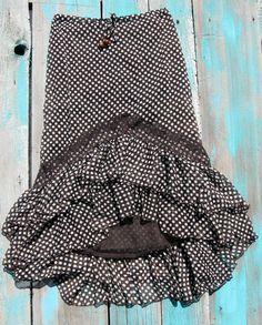 Cowgirl Gypsy Skirt