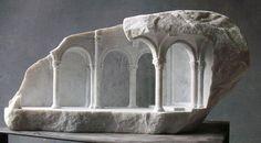 Marble sculptures Matthew Simmonds.