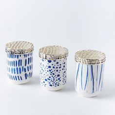 Caged Ceramic Candles