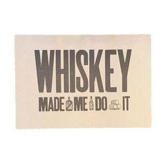 Yella Dog Press | Whiskey Print