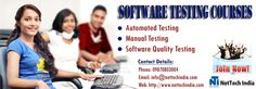 nettechindia.com, one of the main Software testing preparing organizations, offers Software testing Course that will help you attain to a skilled level of testing and quality certification.