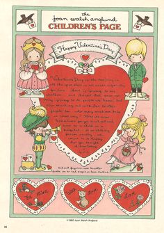 joan walsh anglund valentine's - Google Search