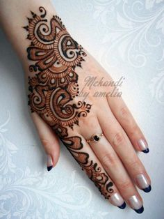 Amelia Mehndi Designs 2013 For Bakra Eid 013