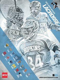 John Hopkins 2015 Lacrosse Poster