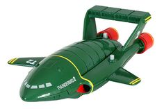 Thunderbird 2 - the bit in the middle came out and it had Thunderbird 4 inside.