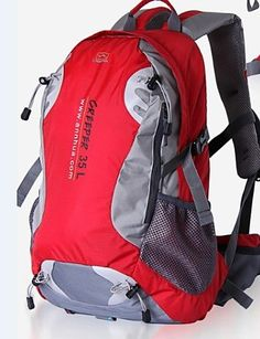 XH@G CREEPER New Outdoor Backpack Shoulders Men and Women Travel Hiking Backpack 35 L >> Insider's special review you can't miss. Read more  : Backpacking gear