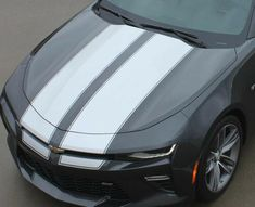 I honestly am keen on this color selection for this %%KEYWORD%% 2018 Chevy Silverado, Chevrolet Camaro, Camaro 2018, Mustang Stripes, Chevy Camaro Convertible, Racing Stripes, Cool Suits, Motor Car, Rally