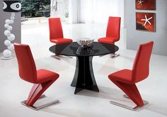 Nice Prettier Round Glass Dining Table