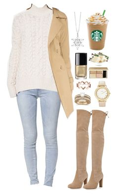 """Sugar and cookie dough"" by silent-sorrow on Polyvore featuring Bullhead Denim Co., Superdry, Tobi, Stuart Weitzman, Allurez and Chico's"