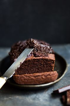 Gluten free, intolerance friendly chocolate cake with easy vegan chocolate icing