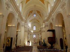Interior of the Main Church of Soleto (Lecce, Italy)