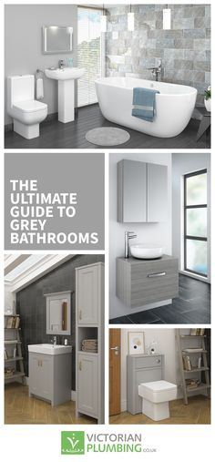 Small bathrooms often tend to feel a bit restrictive, but this doesn't have to be the case. We've got a fantastic list of 21 simple upgrades you can do to make things look great without taking up too much space. Family Bathroom, Master Bathroom, Bathroom Ideas, Bathroom Storage Solutions, Grey Bathrooms, Bathroom Styling, Plumbing, Home Improvement, Campaign