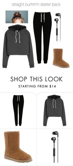"""""""straight bumm'n ♡"""" by vuenatalie on Polyvore featuring George and Bearpaw"""