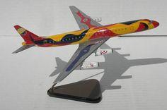 Vtg 1 200 Braniff Airways Douglas DC 8 62 Calder