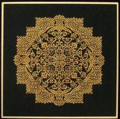 Sampler Cove - Cross Stitch Patterns & Kits - 123Stitch.com - Kaleidoscope Flower