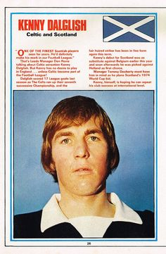 Kenny Dalglish 1972