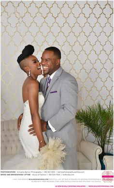 Why did Senè think that DeAngelo wasn't her type? Find out, see their photos from Kimyetta Barron Photography, read their story and meet their entire wedding vendor dream team on the blog NOW!  By the way, aren't the girls rocking their attire from House of Fashion Bridal Salon and Tuxedo?  Visit www.realweddingsmag.com for more!  #FeaturedRealWedding #SacramentoWeddings #RealWeddingsMag #RealWeddingsSac #HouseOfFashion #KimyettaBarronPhotography