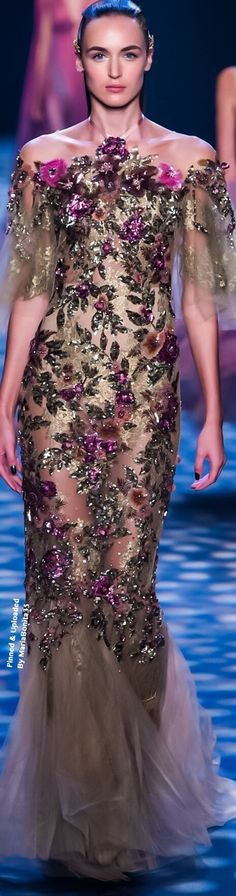 Marchesa Spring/Summer 2017 Ready To Wear Collection Highlights