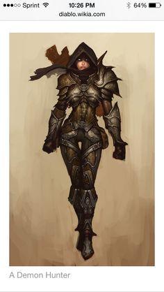 Diablo III Demon Hunter