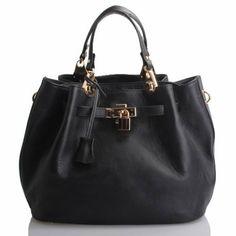 "Splenderosa . . . ""Tina"" top-handle satchel."