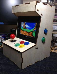 The Porta-Pi. A DIY Mini Arcade Cabinet for Raspberry Pi. by Ryan Bates —…