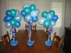 ideas to make 90th birthday table decorations - Google Search