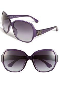 I heart sunglasses -- Michael Kors purple