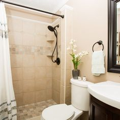 Showers Without Doors Design Ideas, Pictures, Remodel, and Decor - page 6