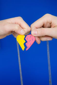 How To Make a Friendship Necklace for Your Bestie — Apartment Therapy Tutorials