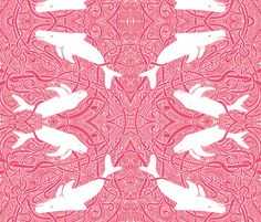 When Whales Dream fabric by edsel2084 on Spoonflower - custom fabric
