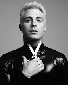 I hate the hair and these shots are weird. Colton Haynes - New Tyler Shields Photo Shoot!