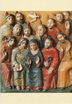 Pentecôte - CARTES Soeur Mercédes