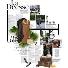 """La Déesse"" by dioraddicted on Polyvore"