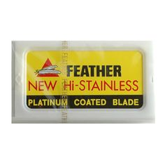 10 Feather Double-Edge Safety Razor Blades at Fendrihan.com