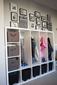 Ikea Hacks: Beautiful DIY Lockers for Kids - Urban Mommies