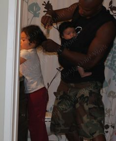 Cute pic but also a great article - worth a read!   I Have A Dream - Daddy Doin' Work