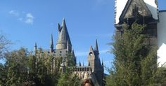 The Castle at The Wizarding World of Harry Potter at Islands of Adventure in Orlando, Florida