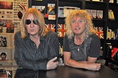 ... California on September 5, 2011 » 1-Joe Elliott and Rick Savage 'Def  Leppard: A Definitive Visual History' Book Signing at Book Soup in West  Hollywood, ...