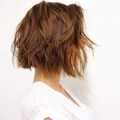 Perfect Short Shaggy Bob Haircut - Stylish Haircuts for Women