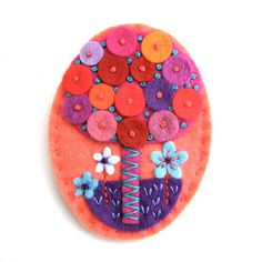Guess what - I have been chosen as a featured seller on Folksy - what a fabulous surprise. Folksy contacted me yesterday to ask if I would. Felt Crafts, Crafts To Make, Arts And Crafts, Felt Embroidery, Felt Applique, Wool Quilts, Felt Hair Clips, Felt Material, Craft Markets