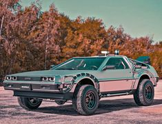 If the Back to the Future DeLorean went off-road...