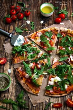 Pizza, food photography, italy