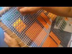YouTube Needle Lace, Filets, Lace Making, Loom Weaving, Loom Knitting, Embroidery Art, String Art, Lana, Diy And Crafts
