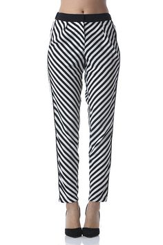 Trend Alert! These are not your usual stripes. These lightweight pants are great…