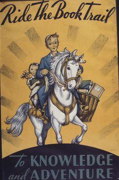 Official Children's Book Week poster, 1934, Grace A. Paull (1898-1990)