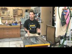 Woodworking #55- Tablesaw Setup/Tuneup (Pt 1)