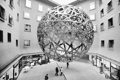 Olafer Eliasson: Sphere (2003), Fünf Höfe centre, Munich, Germany